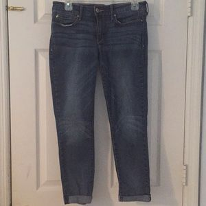 Levi Denizen denim crop pants
